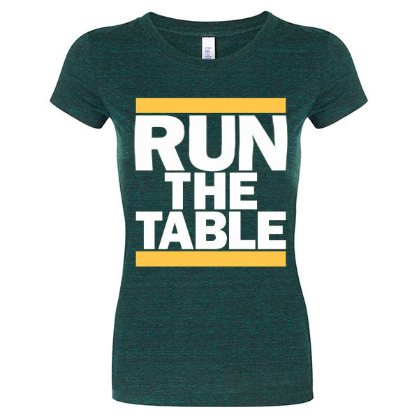 Run The Table Ladies - Emerald Triblend