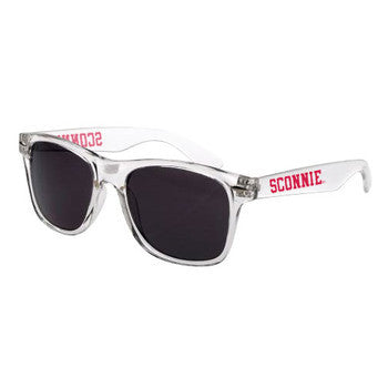 Sconnie Malibu Sunglasses - Clear