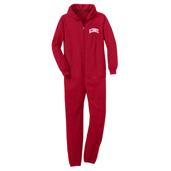 Sconnie Fleece Lounger - Red