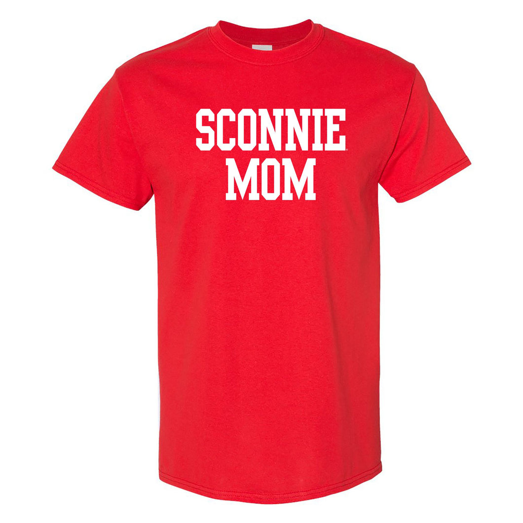 Sconnie Mom Block T-Shirt - Red
