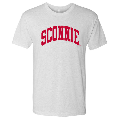 Sconnie Tri-Blend T-shirt - Heather White