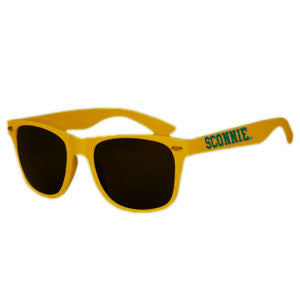Sconnie Malibu Sunglasses - Gold