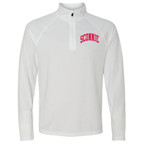 Sconnie Lightweight 1/4 Zip - White