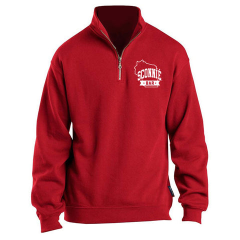 SCONNIEBAR 1/4 Zip - Red