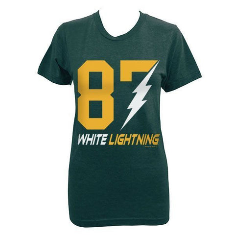 Women's White Lightning T-shirt - Forest