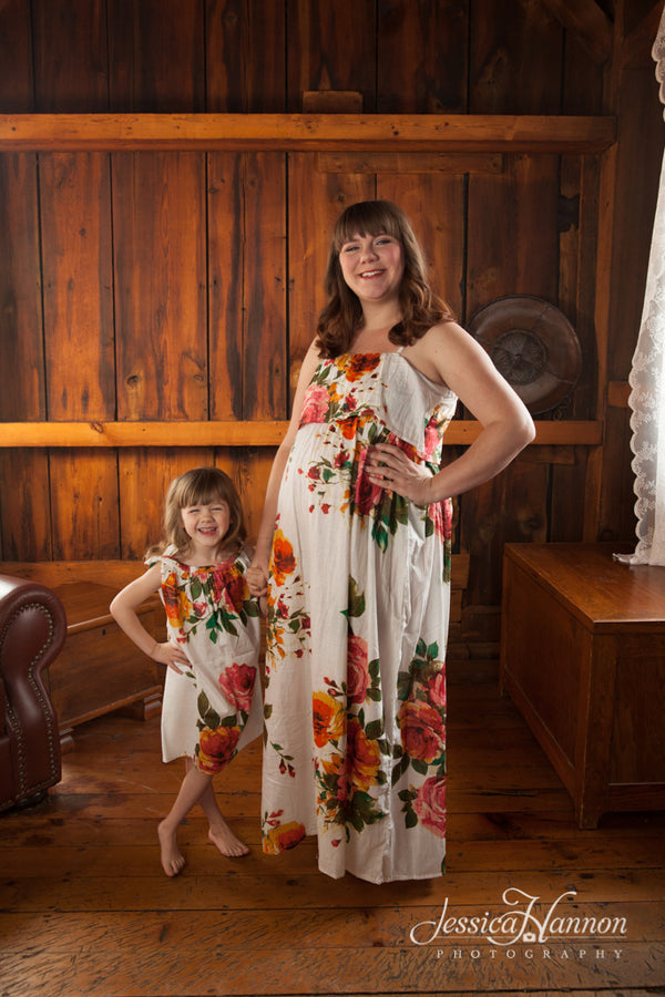 Mommy Baby Matching Summer Dresses, Perfect Baby shower gift, Mommy and Me matching Dresses, Photoprops, Maxi Dresses, Pillowcase Dress|Jessica Hanon Photography|Jessica Hanon Photography|Jessica Hanon Photography|D SERIES|D SERIES 2