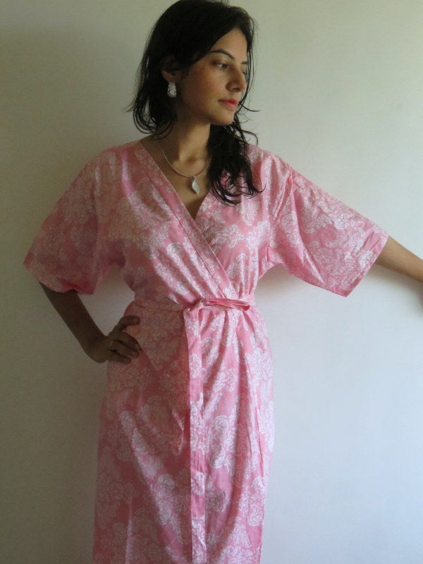 Back Zippered Ankle length Maternity Hospital Gown