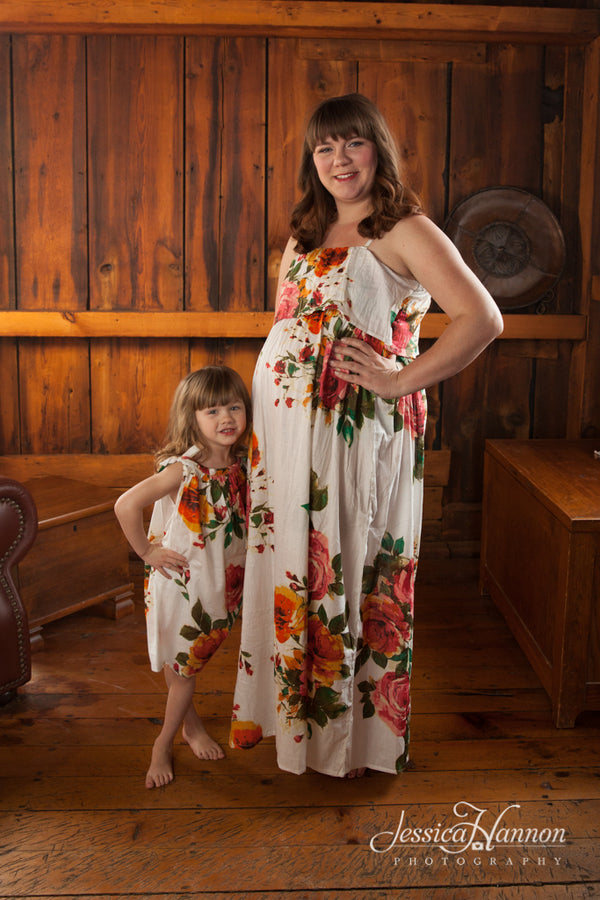 Mommy Baby Matching Summer Dresses