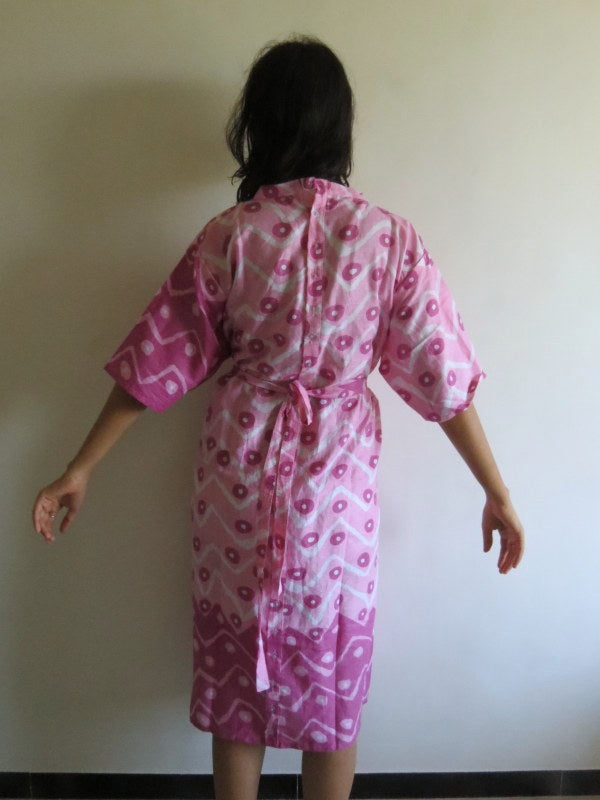 Back Buttoned Maternity Hospital Gown