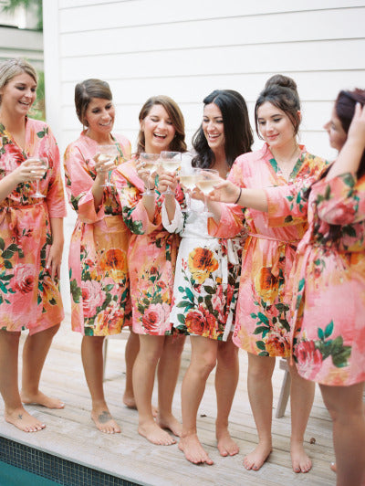Coral Bridesmaids Robes|431f9d62ebf1a9d49ea427e010a7014f|D SERIES|D SERIES 2|BIG FLOWER ROBES|BIG FLOWER ROBES2|BIG FLOWER2