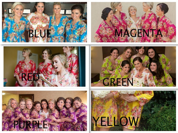 Mix Matched Bridesmaids Robes