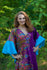Purple Ballerina Style Caftan in Cheerful Paisleys|Purple Ballerina Style Caftan in Cheerful Paisleys|Cheerful Paisleys