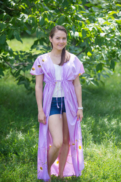Lilac Beach Days Style Caftan in Falling Daisies|Lilac Beach Days Style Caftan in Falling Daisies|Falling Daisies