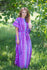 Purple Divinely Simple Style Caftan in Geometrica Pattern|Purple Divinely Simple Style Caftan in Geometrica Pattern|Geometrica
