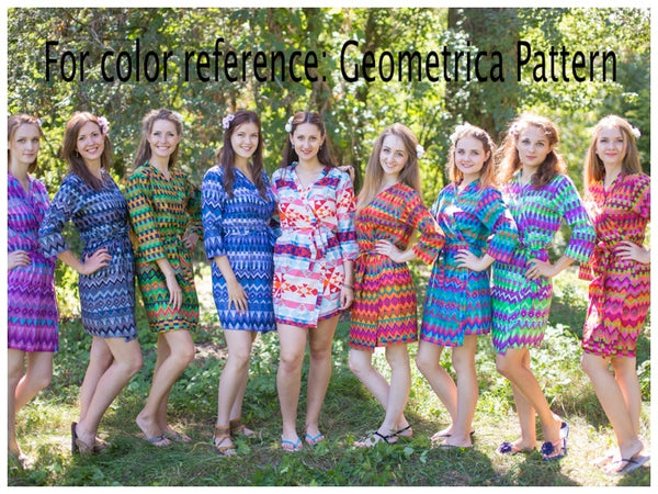 Gray Bella Tunic Style Caftan in Geometrica Pattern
