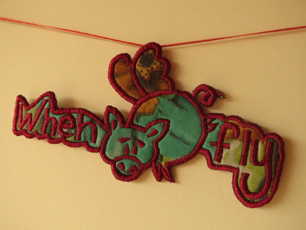 When Pigs Fly Custom Made Garland