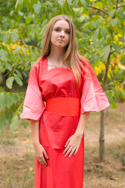 Coral Beauty, Belt and Beyond Style Caftan in Ombre TieDye|Coral Beauty, Belt and Beyond Style Caftan in Ombre TieDye|Ombre Tiedye