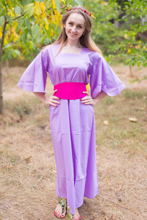 Lilac Beauty, Belt and Beyond Style Caftan in Plain and Simple
