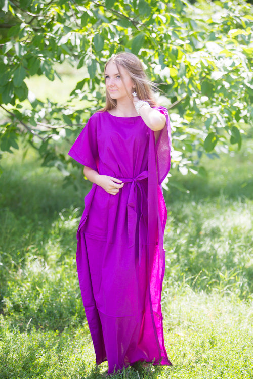 Purple Divinely Simple Style Caftan in Plain and Simple Pattern|Purple Divinely Simple Style Caftan in Plain and Simple Pattern|Plain and Simple