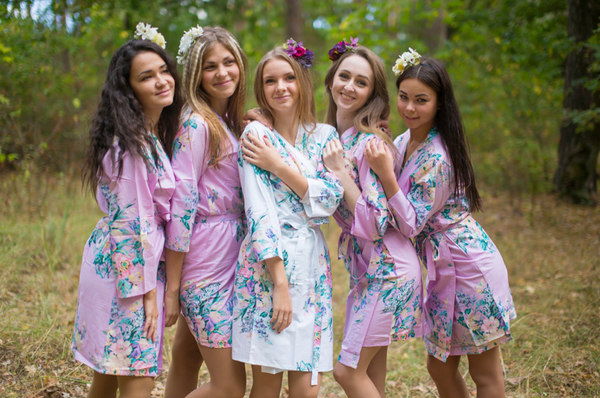Lilac Blooming Flowers Pattern Bridesmaids Robes|Lilac Blooming Flowers Pattern Bridesmaids Robes|Blooming Flowers Pattern Bridesmaids Robes|Lilac Blooming Flowers Pattern Bridesmaids Robes|‰Æ'Æ£‡†‰ é´Ï£† ë´†¢'≠·™†Ô  2015.09    (4-6)  2  - 551