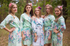Mint Blooming Flowers Pattern Bridesmaids Robes|Mint Blooming Flowers Pattern Bridesmaids Robes|Blooming Flowers Pattern Bridesmaids Robes|‰Æ'Æ£‡†‰ é´Ï£† ë´†¢'≠·™†Ô  2015.09    (4-6)  2  - 544