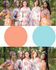 Peach & Sky Blue Wedding Colors Bridesmaids Robes|Peach & Sky Blue Wedding Colors Bridesmaids Robes|Peach & Sky Blue Wedding Colors Bridesmaids Robes|Peach & Sky Blue Wedding Colors Bridesmaids Robes|1
