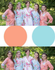 Peach & Light Blue Wedding Colors Bridesmaids Robes|Peach & Light Blue Wedding Colors Bridesmaids Robes|Peach & Light Blue Wedding Colors Bridesmaids Robes|Peach & Light Blue Wedding Colors Bridesmaids Robes
