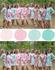 Mint & Pink Wedding Colors Bridesmaids Robes|Mint & Pink Wedding Colors Bridesmaids Robes|Mint & Pink Wedding Colors Bridesmaids Robes