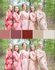 Marsala and Nude Wedding Colors Bridesmaids Robes|Marsala and Nude Wedding Colors Bridesmaids Robes|Marsala and Nude Wedding Colors Bridesmaids Robes