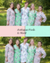 Antique Pink and Mint Wedding Colors Bridesmaids Robes|Antique Pink and Mint Wedding Colors Bridesmaids Robes|Antique Pink and Mint Wedding Colors Bridesmaids Robes