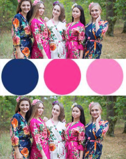 Navy Blue and Magenta Wedding Colors, Bridesmaids Robes|Screen Shot 2016-01-04 at 4.15.37 PM|Navy Blue and Magenta Wedding Colors, Bridesmaids Robes|1|2