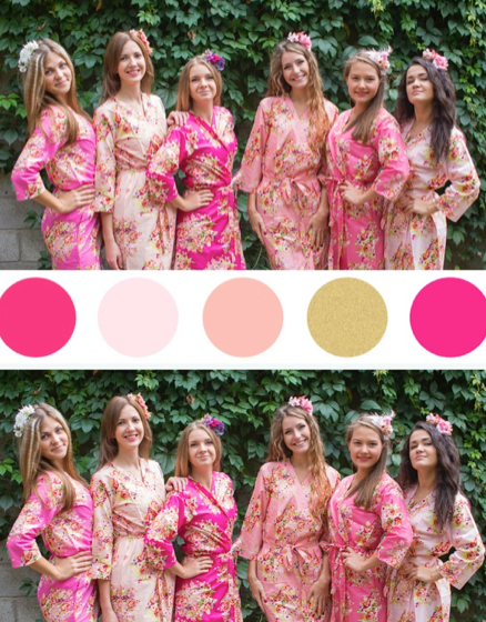 Shades of Pink Wedding Colors Bridesmaids Robes|Shades of Pink Wedding Colors Bridesmaids Robes|Shades of Pink Wedding Colors Bridesmaids Robes|‰Æ'Æ£‡†‰ é´Ï£† ë´†¢'≠·™†Ô  2015.09    (4-6)  - 220|‰Æ'Æ£‡†‰ é´Ï£† ë´†¢'≠·™†Ô  2015.09    (4-6)  - 221