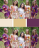 Eggplant, Beige and White Wedding Colors Bridesmaids Robes|Eggplant, Beige and White Wedding Colors Bridesmaids Robes|Eggplant, Beige and White Wedding Colors Bridesmaids Robes|1|2