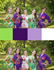 Purple and Green Wedding Colors Bridesmaids Robes|Purple and Green Wedding Colors Bridesmaids Robes|Purple and Green Wedding Colors Bridesmaids Robes