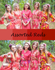 Assorted Red Robes, Shades of Red Wedding Colors Bridesmaids Robes|Assorted Red Robes, Shades of Red Wedding Colors Bridesmaids Robes|Assorted Red Robes, Shades of Red Wedding Colors Bridesmaids Robes|1|2