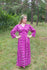 Purple Button Me Down Style Caftan in Tribal Aztec Pattern|Purple Button Me Down Style Caftan in Tribal Aztec Pattern|Tribal Aztec