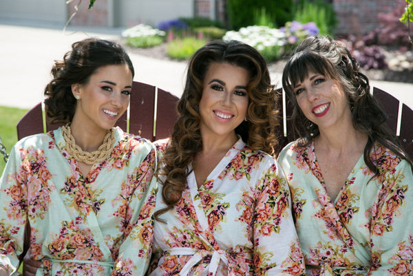 Mint Bridesmaids Robes