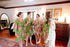 Green Bridesmaids Robes|REGULAR FABRICS2|A SERIES FABRICS|BRIGHT ROBES|PASTEL ROBES|SHALIMAR ROBES|A SERIES ROBES|A SERIES|A SERIES2
