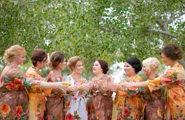 Mix Matched Bridesmaids Robes|D SERIES|D SERIES 2|BIG FLOWER ROBES|BIG FLOWER ROBES2|BIG FLOWER2