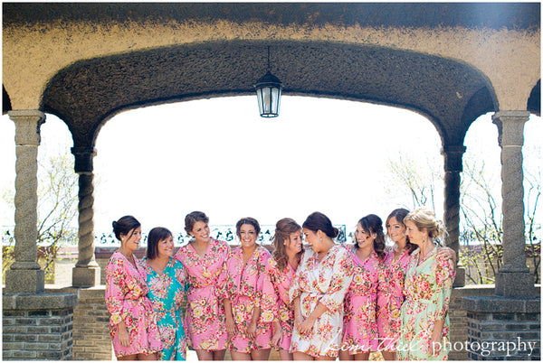 Mix Matched Bridesmaids Robes|REGULAR FABRICS2|A SERIES FABRICS|A SERIES2|A SERIES|A SERIES ROBES