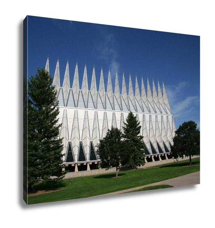 Gallery Wrapped Canvas, Air Force Academy Chapel Colorado Springs