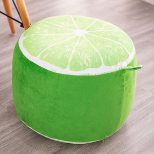 Inflatable Plush Stool