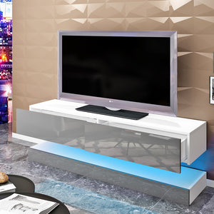 Floating TV Cabinet - Modern LED Design