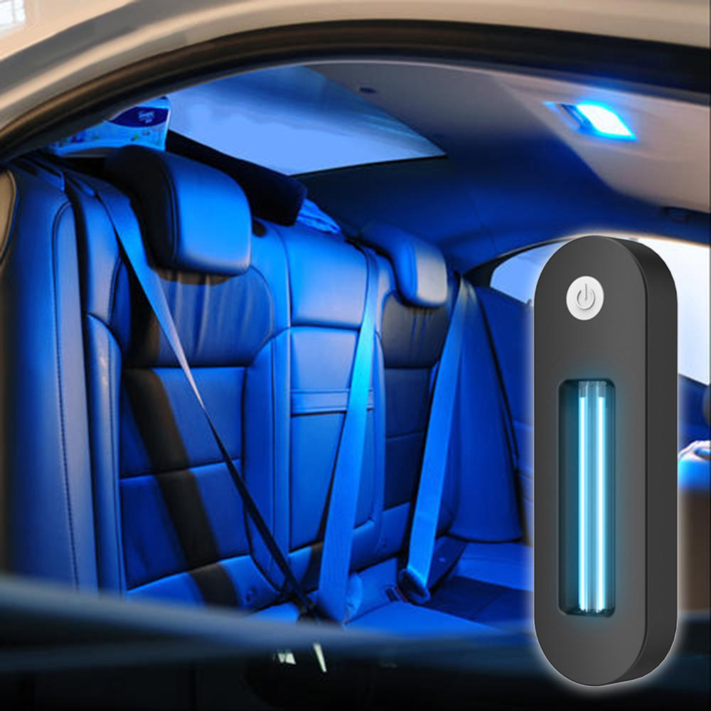 Automotive Interior Roof Charging UV Disinfection Lamp