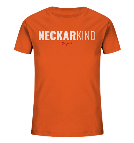 Neckarkind Original - Kids Organic Shirt