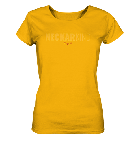 Neckarkind Original All Yellow - Ladies Organic Shirt