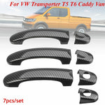 Carbon Fiber Door Handle Covers For VW Transporter T5 T6 & Caddy