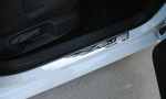 Stainless Steel Door Sill Scuff Plate Car Accessories For VW Volkswagen Golf MK7