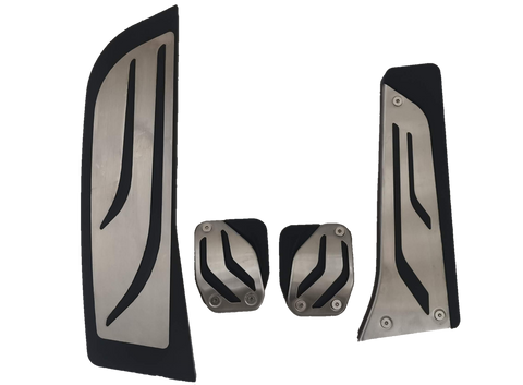 BMW Manual Stainless Steel Pedal Covers