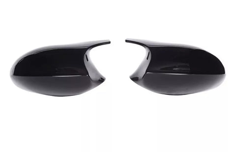 E90 E92 BMW M3 Style Gloss Black Replacement Mirror Covers